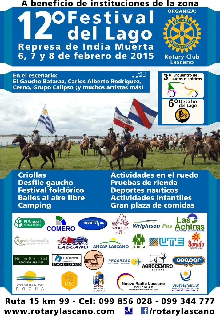12° Festival del Lago - afiche jpg